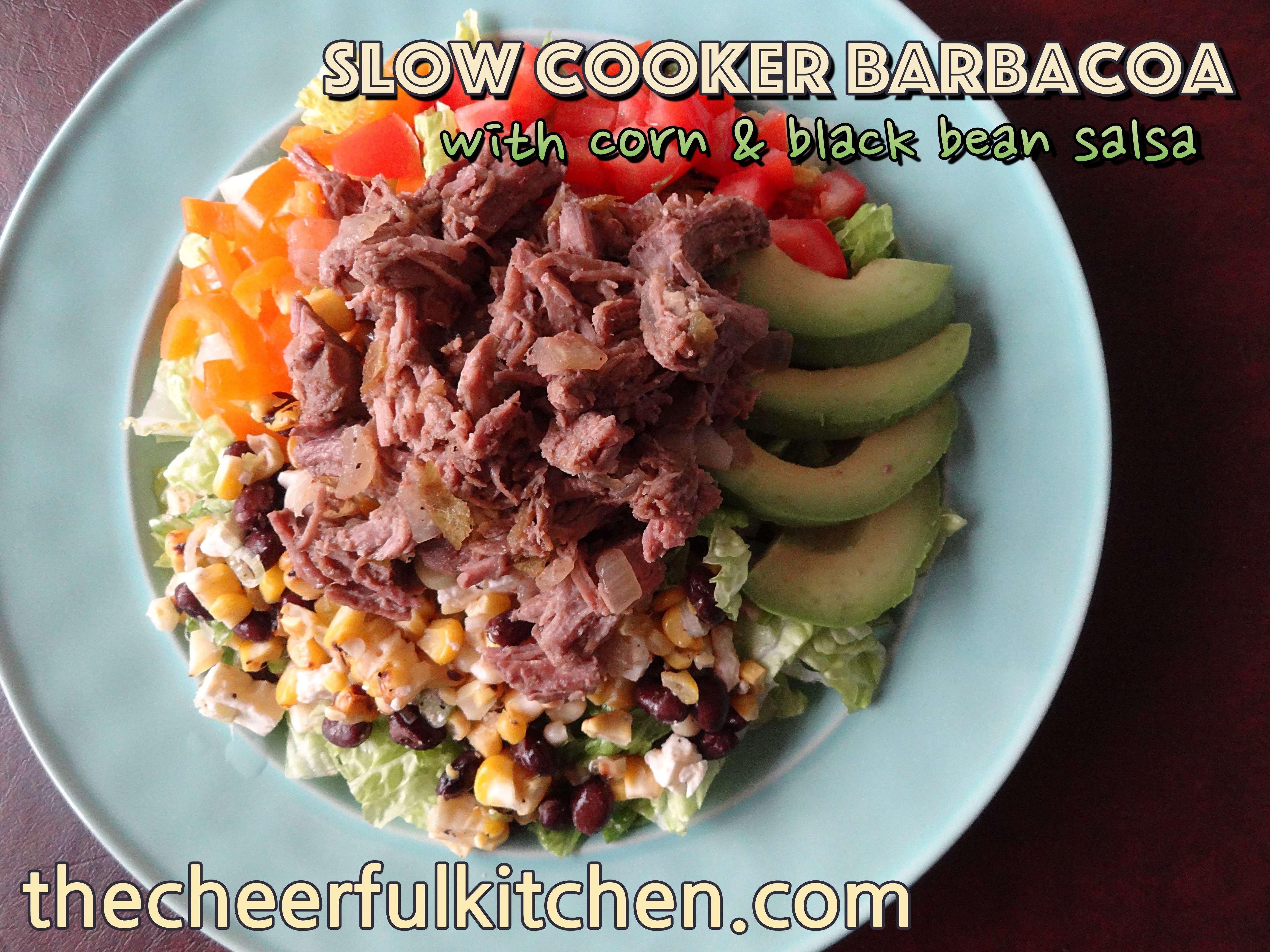 barbacoa taco salad the cheerful kitchen2