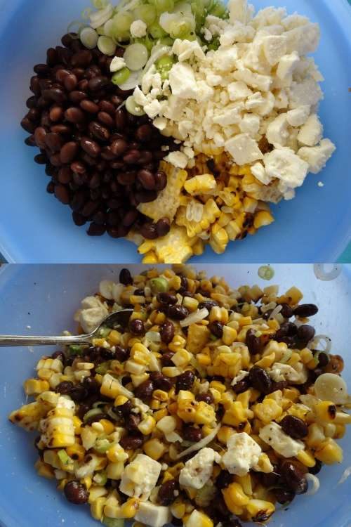 roasted corn black bean salsa the cheerful kitchen
